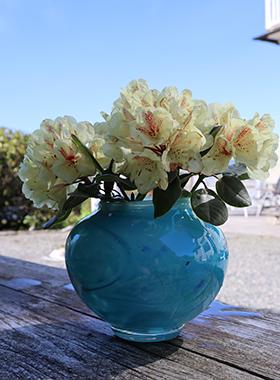 Vase stor m blomst