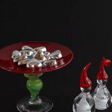 Julebutikk i glassblåseriet