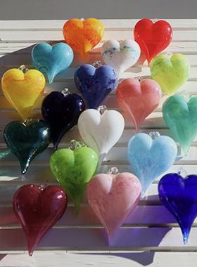 gruppe hjerter